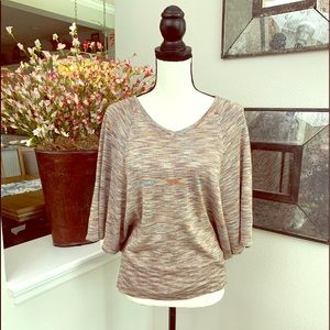 89th & Madison poncho style light weight sweater